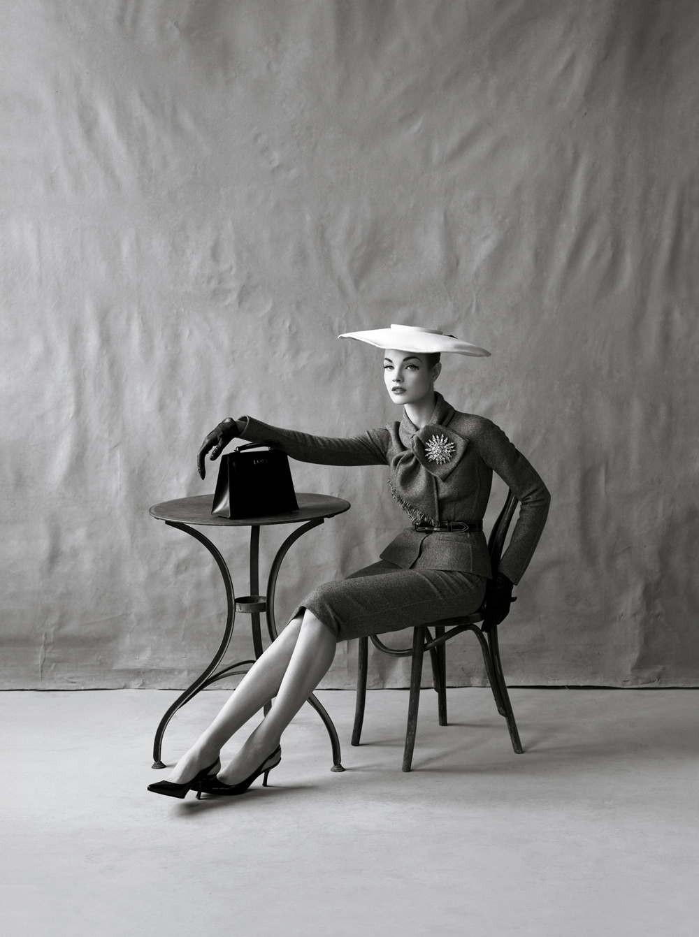 Natalia Vodianova as Jean Patchett photographed by Steven Meisel and styled by Grace Coddington for The great pretender / Vogue US May 2009 via fashioned by love british fashion blog