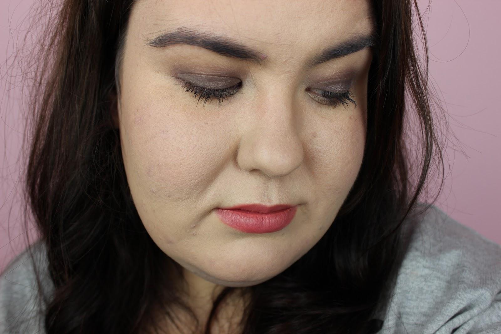 smokey eye makeup with clarins essentials palette
