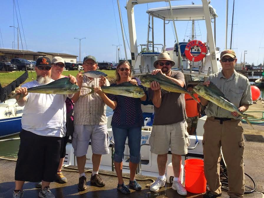 C lure fishing chaters kauai hawaii good fishing in for Kauai fishing report