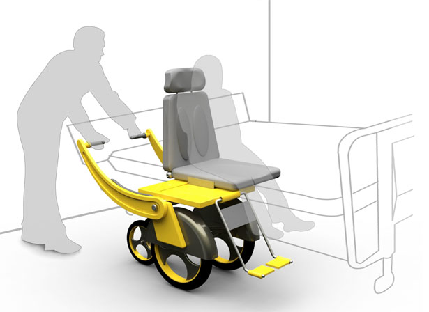 Part Man Part Car: Cha Inseon\'s Sliding Wheelchair With Integrated ...