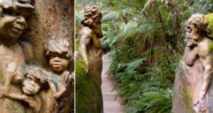 Santuário de Potter (William Ricketts Sanctuary) - Victoria, Australia