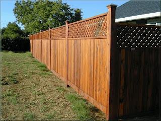 Деревянный забор. Фото 13