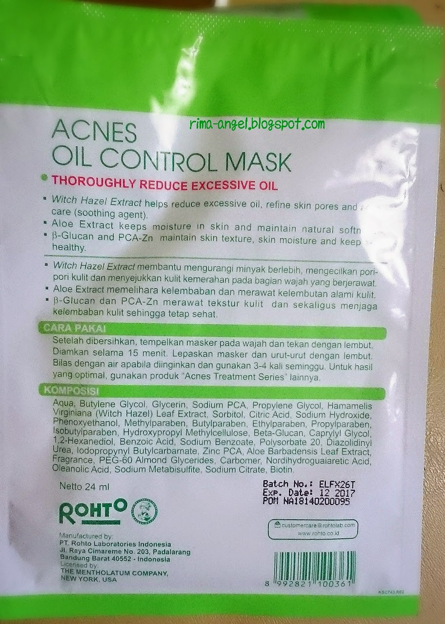 [REVIEW] ACNES CREAM: OIL CONTROL AND WHITENING