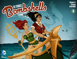 Cover of DC Comics Bombshells #4
