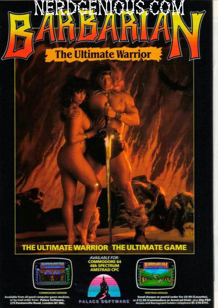 Conan the Barbarian inspired Mortal Kombat prototype Barbarian game