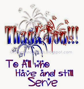 fireworks thank you to all who served graphic image
