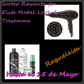 Sorteo Rowenta for Elite Model Look &amp; Tresemme