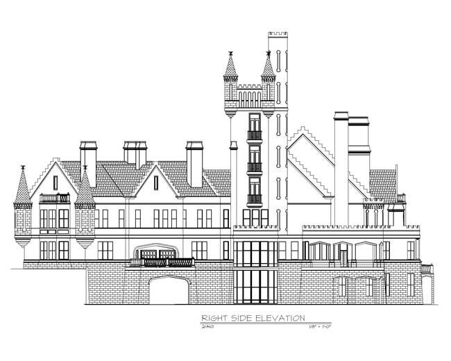 Balmoral House Plan Balmoral House Plan 6 Story 22188