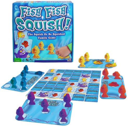 Stacy tilton reviews win 3 new games at the come out for Squish the fish