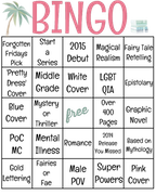 BOOK BINGO Challenge