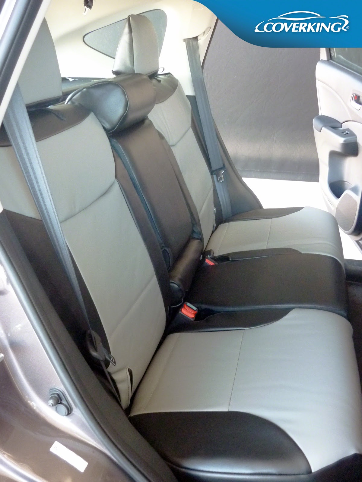 Custom-fit Coverking seat covers for CR-V including 2015 models