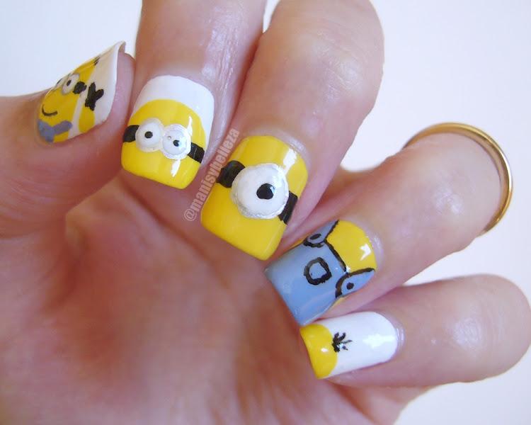 Minions nails