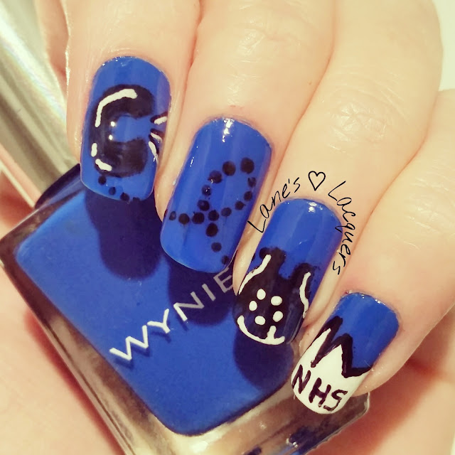 40-great-nail-art-ideas-work-nhs-reception-telephone-nail-art (2)