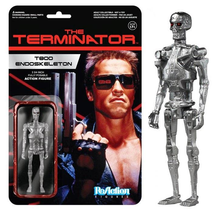Figura Terminator T800 Endoesqueleto