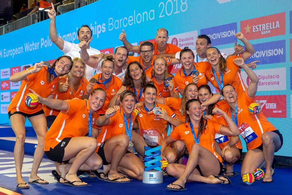Netherlands - European Champion Women, Budapest 2018