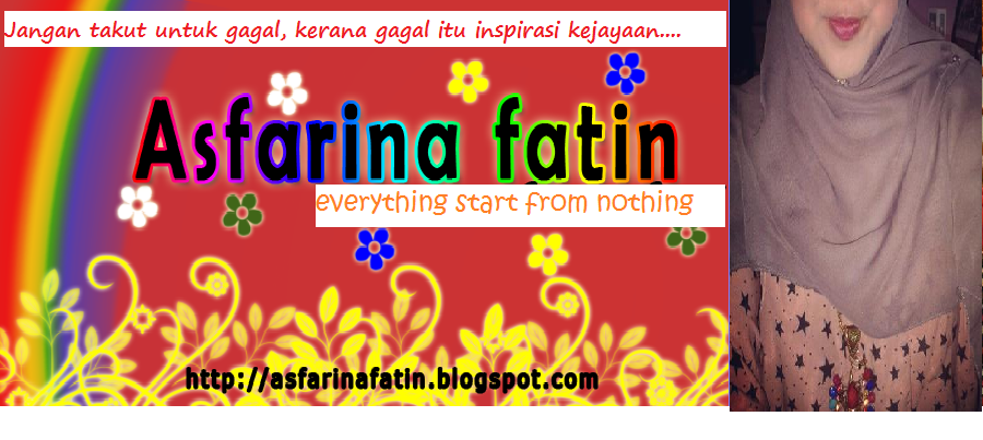 Asfarina's Journal