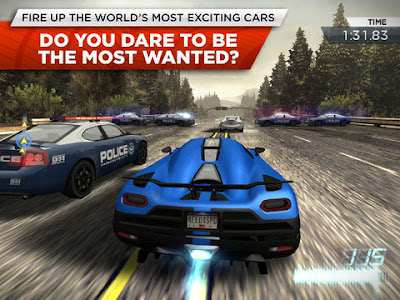 Need for speed most wanted full apk data full version for Nfs most wanted android