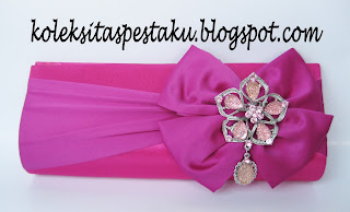 Tas Pesta Pink Fanta Magenta