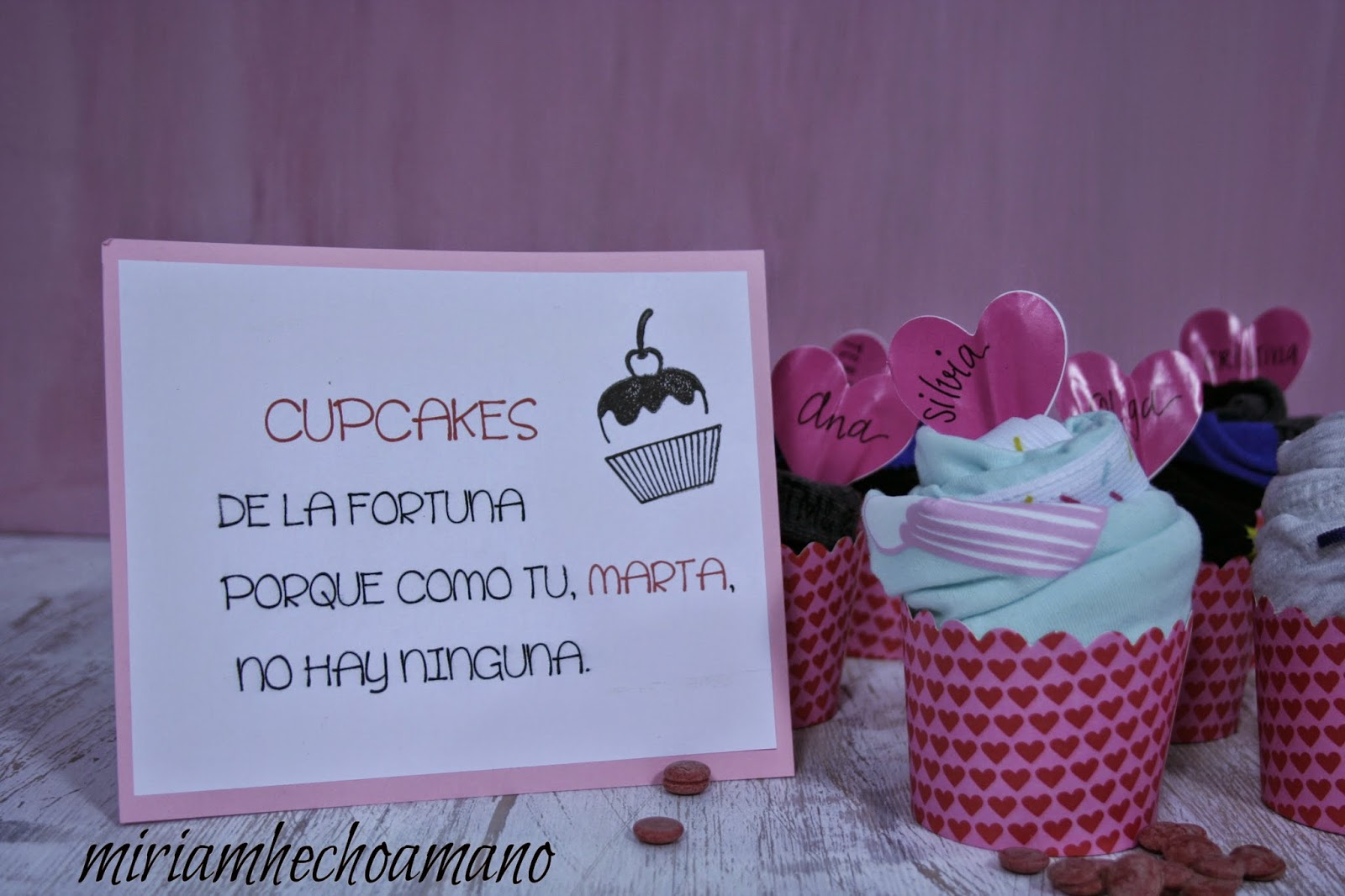 cupcakes calcetines