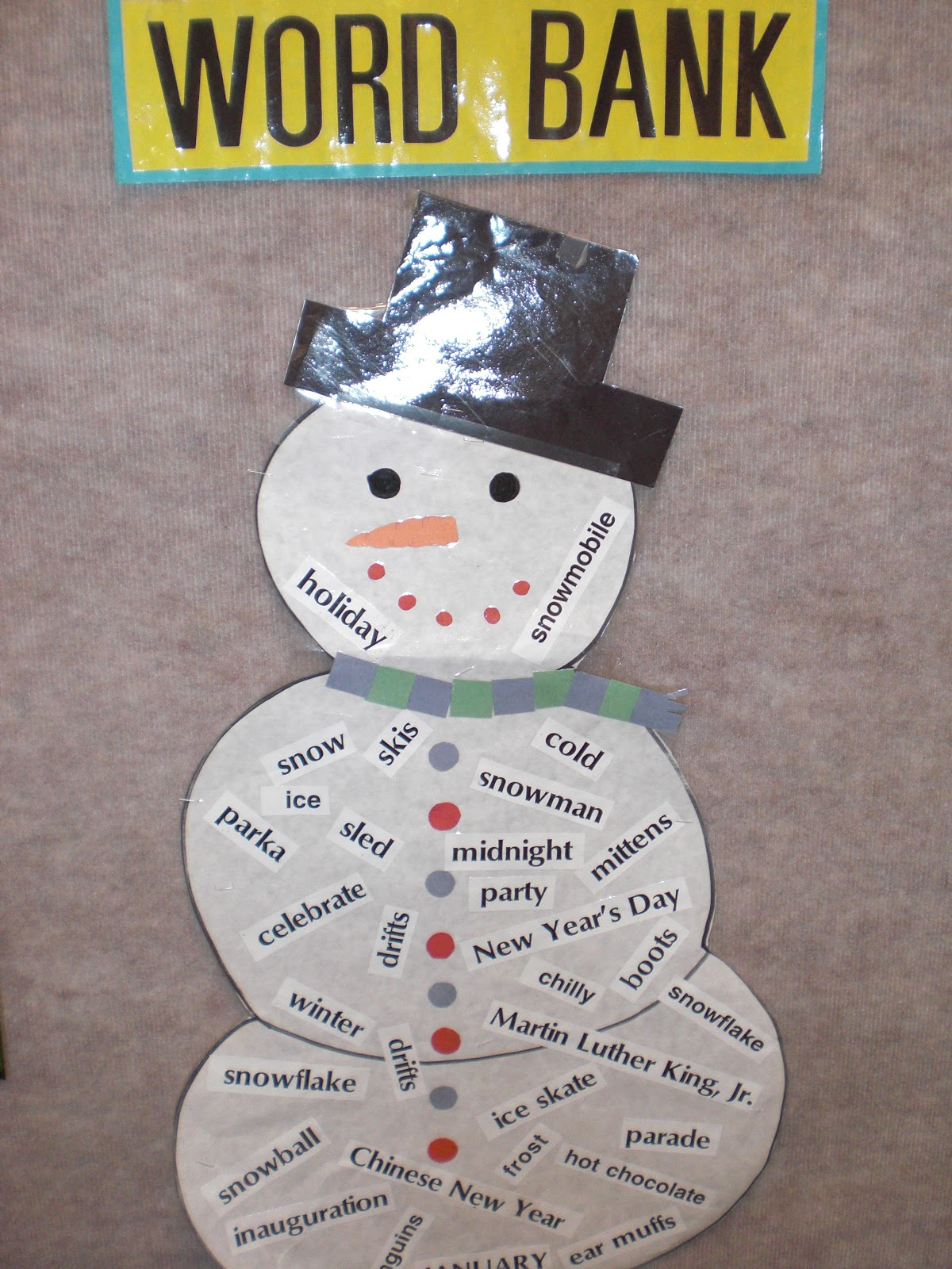 PATTIES CLASSROOM: Snowman Art and Winter Acrostic Poems
