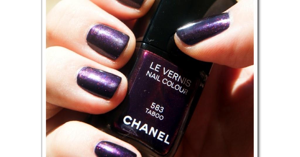 Men can wear nail polish: CHANEL 583 \