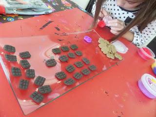manualidades con niños con pasta de modelar