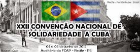 Convenção Nacional de Solidariedade a Cuba - Recife - 2015: