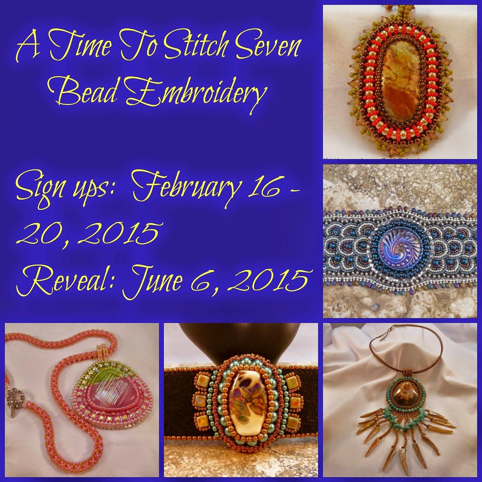 A Time to Stich Seven - Bead Embroidery