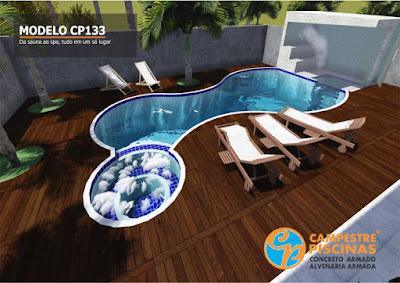 piscinas formatos curiosos