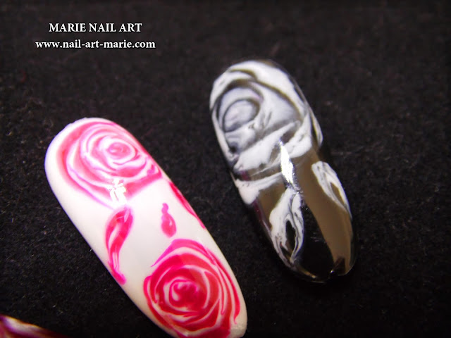 Roses Dry Marble3
