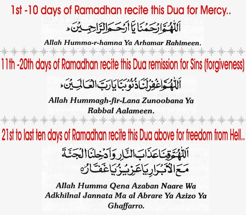 Ramzan2Bthree2Bashara dua - 1st Ashraa ki Dua