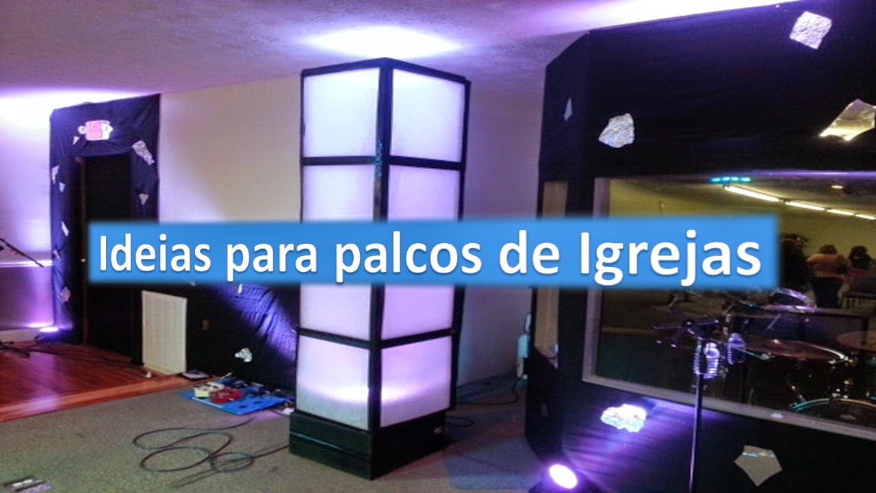 Ideias criativas para palcos de Igrejas(1)