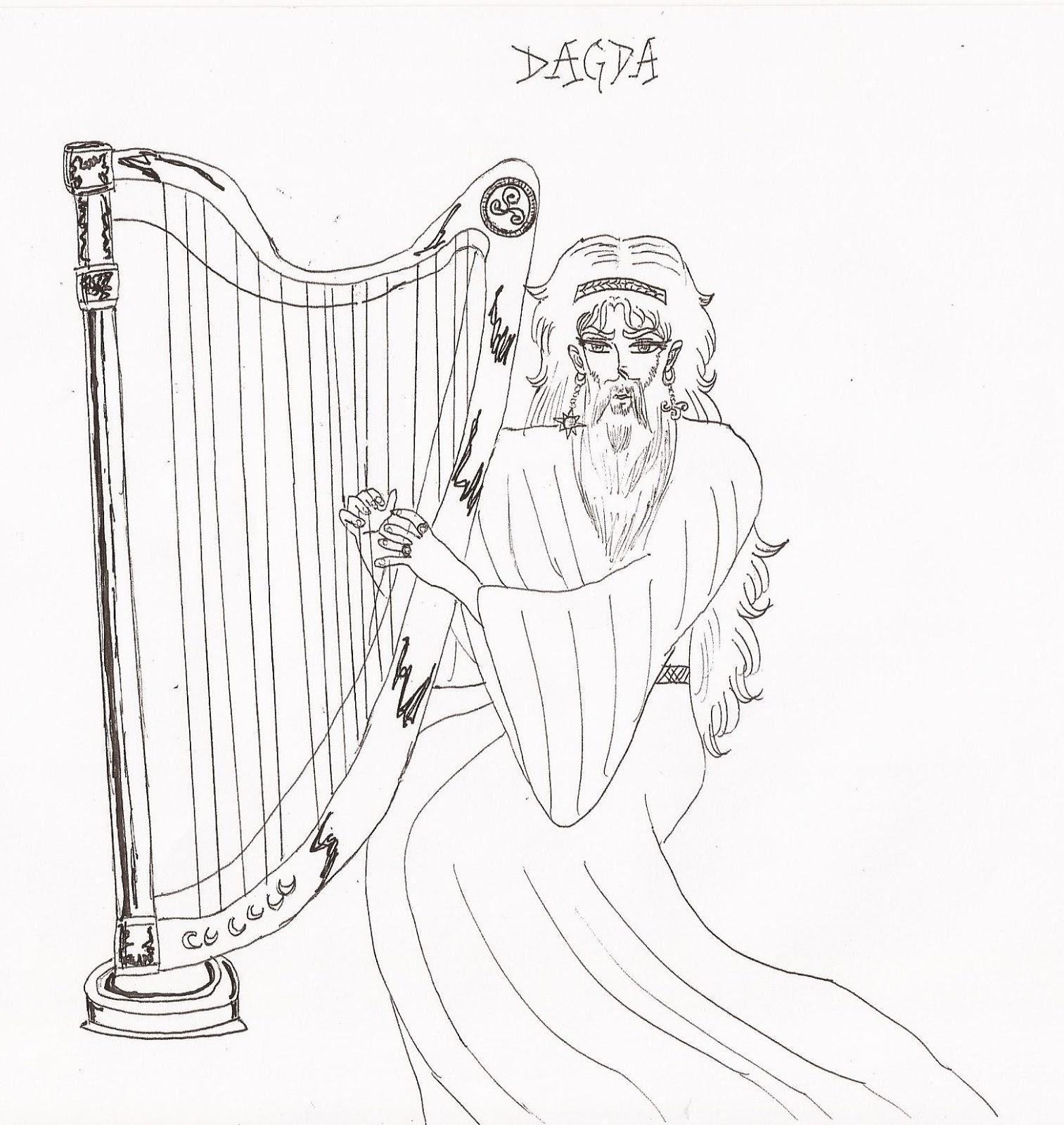 Légendes et dieux celtiques, germaniques et autres: DAGDA Dieu ...