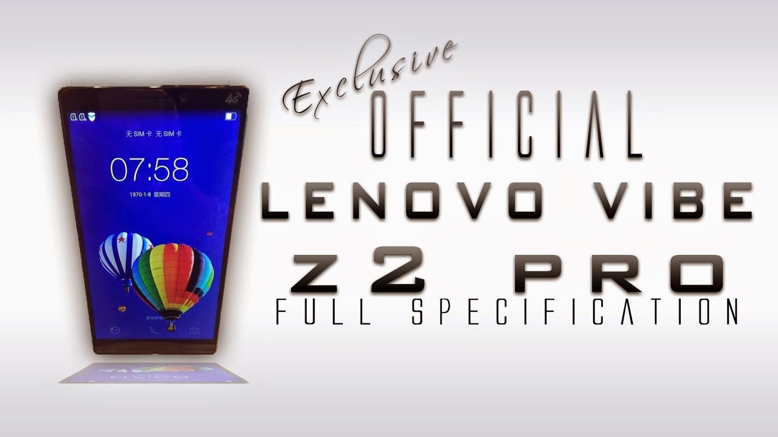 Lenovo K920, Lenovo Vibe Z2 Pro, new smartphone, 4k video recording, Ultra HD television, Vibe Z2 Pro, Qualcomm Snapdragon 801, 4G LTE, Android 4.4