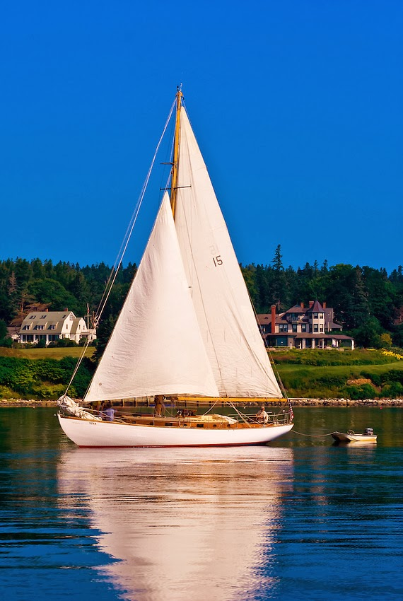 Castine Harbor, Penobscot Bay, Maine