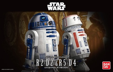 バンダイ 1/12 R2-D2 R5-D4