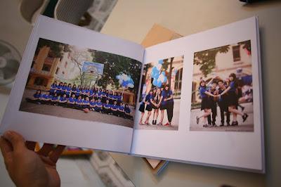 Thiết kế album hình kỷ yếu - photobook