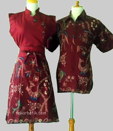 batik couple murah