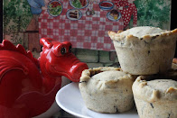 Welsh Laverbread Pies