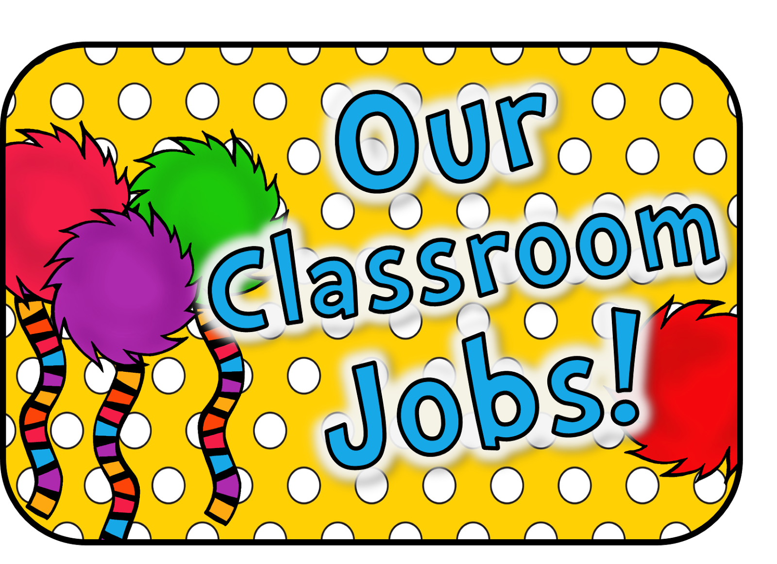 gallery for > printable preschool job chart clipart classroom jobs