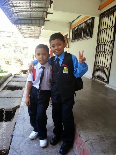 Hari pertama persekolahan 2014