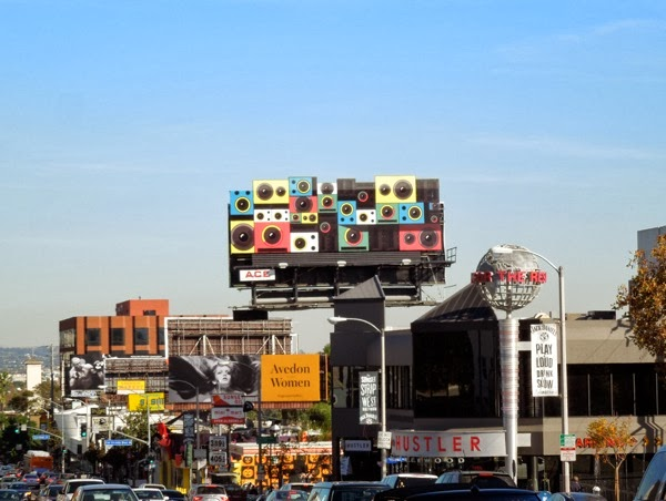 Google Play speakers billboard