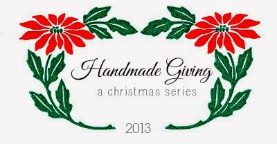 http://www.aliciahutchinson.com/search/label/Handmade%20Giving%20Series%202013