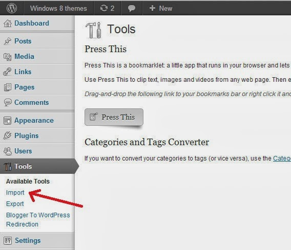 Ways To Migrate From Blogger to WordPress 1
