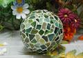 Técnica del mosaico en esferas