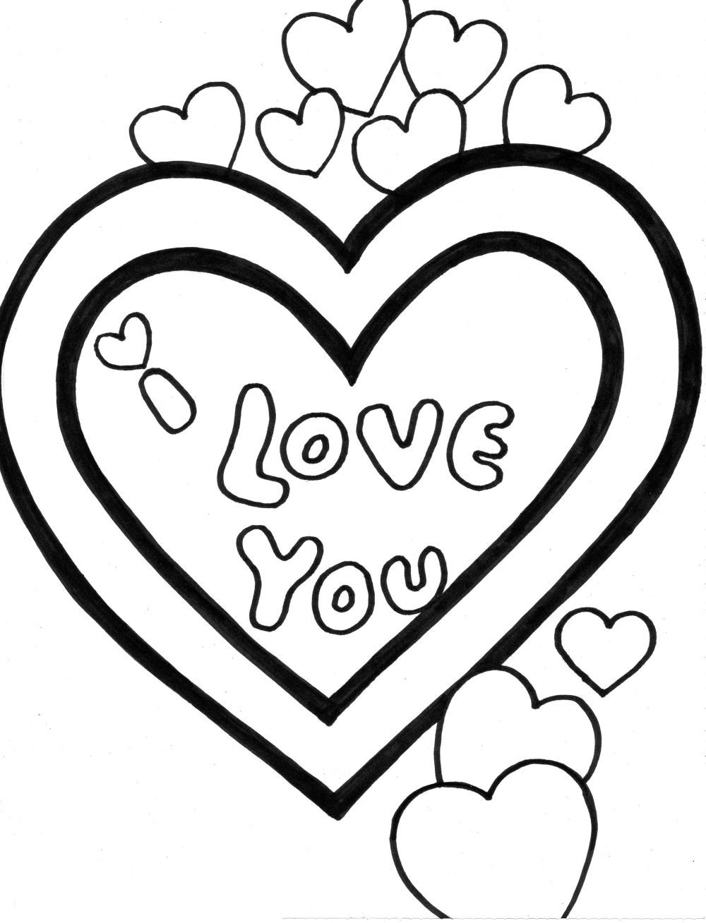 15 love coloring pages for kids disney coloring pages for Love color pages