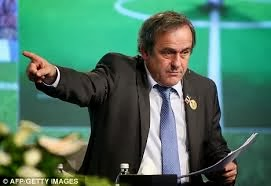Michel Platini stop triple punishment