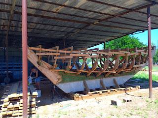 Buehler Emily sailboat build