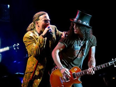 Axl Rose y slash