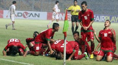 Korsel takluk berkat Hattrick Evan Dimas